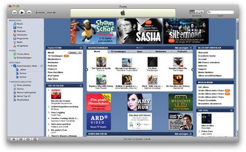 Mac Media Player - iTunes Store
