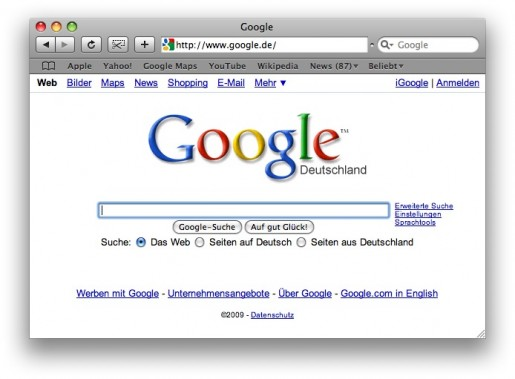 Mac Browser Safari