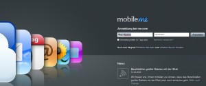 Apple MobileMe Login