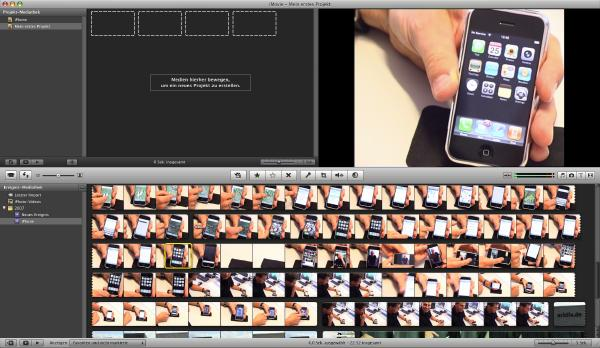 iLife iMovie - iPhone