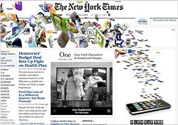 New York Times - 1 Milliarde App Downloads