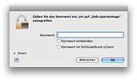 Image mounten Passwortabfrage