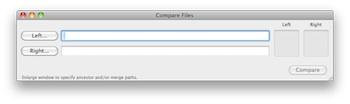 FileMerge - Dateien wählen