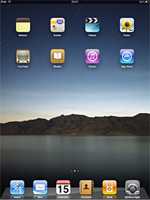 Apple iPad - vorinstallierte iPad Apps