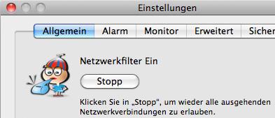 Mac OS Firewall - Little Snitch Start/Stop