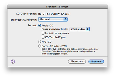 how to change playlist format on itunes