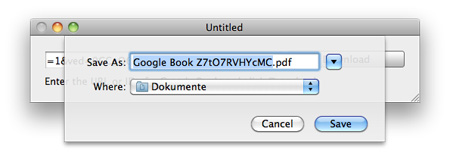Google Books Downloader für Mac OS