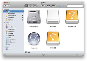 Mac OS Festplatten