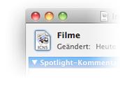 Mac OS Icon funktioniert nicht