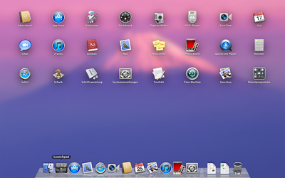 Mac OS X Lion - Launchpad