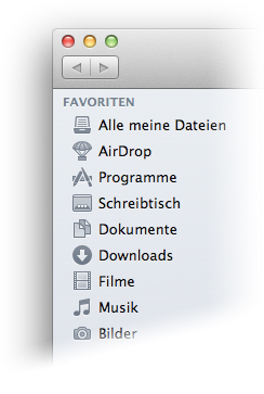 Mac OS X Lion - monochrome Icons
