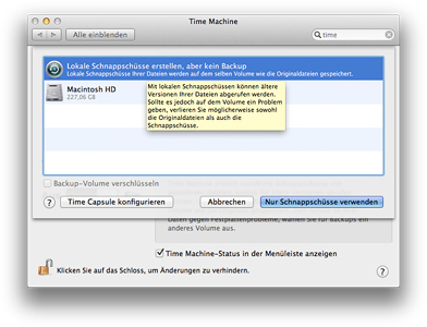 Mac OS X Lion - AutoSave
