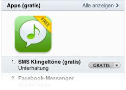 iTunes Gratis App