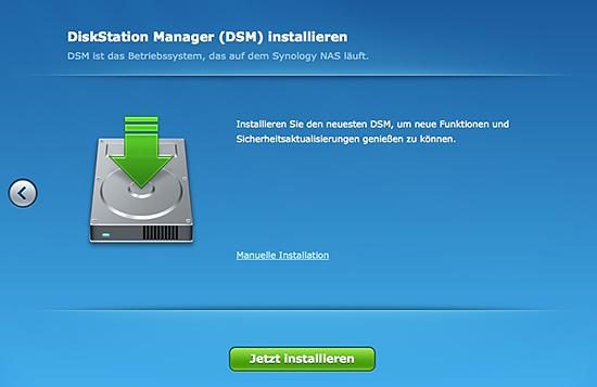 DiskStation DSM installieren
