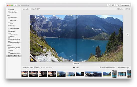 Fotobuch - Panorama