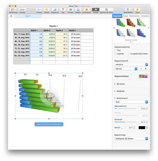 Apple iWork – Numbers - MacEinsteiger.de