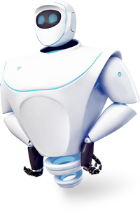 MacKeeper Roboter / Advanced Mac Cleaner