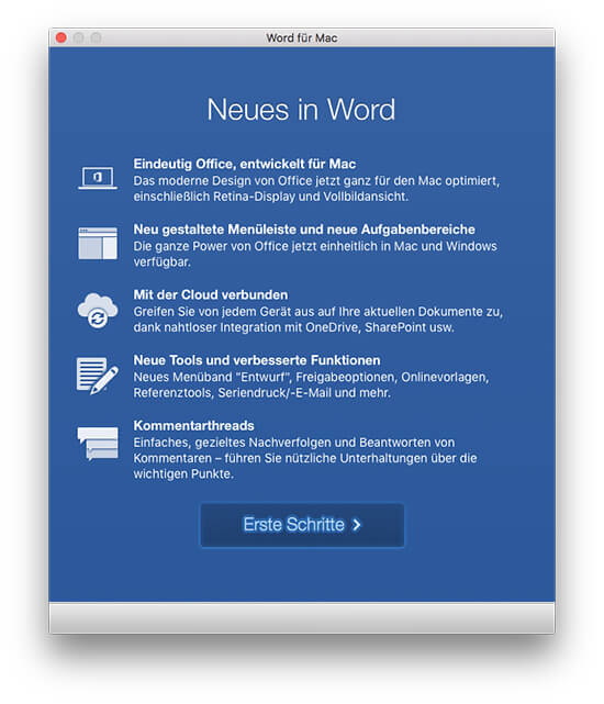 Microsoft Office 2016 - Neues in Word