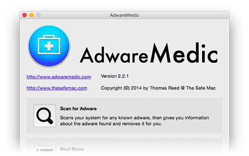 AdwareMedic - OS X Malware entfernen