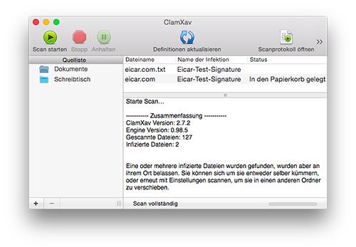 OS X Malware - ClamXav